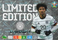PANINI ADRENALYN XL UEFA EURO 2020 SERGE GNABRY LIMITED EDITION CARD - GERMANY