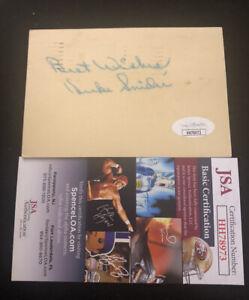 Duke Snider Autographed Post Card VINTAGE JSA Hall of Fame DODGERS