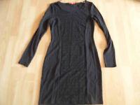 EDC by ESPRIT schönes Jerseykleid schwarz Gr. S NEU  515