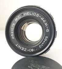 MC Helios 44M-6  58/2 Russian SLR lens M42 for ZENIT