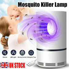 Electric Insect Mosquito Fly Killer Bug Zapper UV Home Indoor Pest Catcher Trap