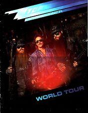ZZ TOP  1986 AFTERBURNER TOUR CONCERT PROGRAM BOOK / BILLY GIBBONS / VG 2 NMT