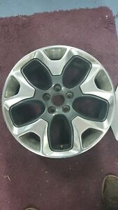 """GENUINE JEEP COMPASS 2018 on 18"""" ALLOY WHEEL 5VC281STAA  53297701 NO 1"""