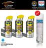 WD40 Lubrifiant au silicone + Huile de coupe + Graisse en spray+Dégraissant Méca