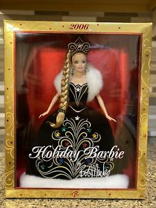 NEW 2006 Holiday Barbie by Bob Mackie Barbie Collector Doll Mattel #J0949