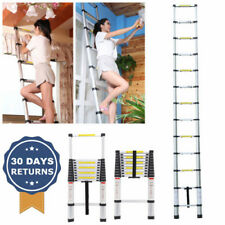 Portable Aluminum Telescopic Ladder Multipurpose Retractable Adjustable 3.8M