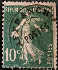 Stamp France 1922 10c Sower Used