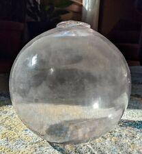 large 6.5 inch diameter glass fishing float