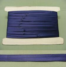 Bias Binding  Satin  Navy Blue 13mm wide 15 meters