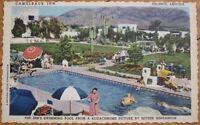 1940 Linen Postcard: Camelback Inn- Phoenix, Arizona AZ