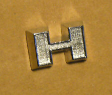 Triumph TR3 Ribbed Hood Letter H