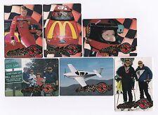 1995 Action Packed Bill Elliott Complete 6 card set BV$8!!!