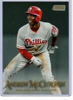 Andrew McCutchen 2019 Topps Stadium Club 5x7 Gold #102 /10 Phillies