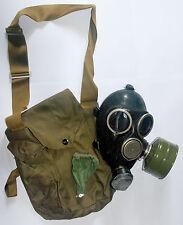 Gp-7 Black Gas Mask Soviet Russian Original full set size 2
