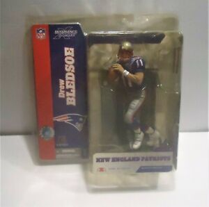 McFarlane Toys NFL Football Series 8 DREW BLEDSOE New England Patriots Rare