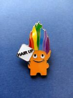 Amazon Employee Peccy Pin Troll with Rainbow Hair - Hair Up! ONLY 100 MADE!