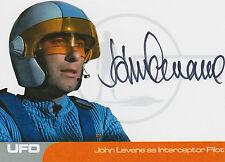 UFO Autograph Trading Card JL1 John Levene As Interceptor Pilot