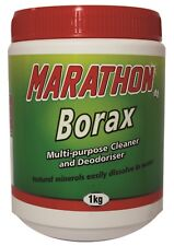Borax 1kg Multipurpose cleaner & deodoriser. Make slime. Unclog drains