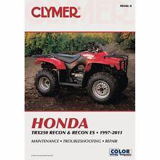 Clymer Repair Shop Manual Honda Trx 250 250 Recon Recon ES 1997-2011, M446-4