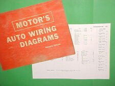 1963 1964 1965 1966 1967 FORD THUNDERBIRD CONVERTIBLE LANDAU WIRING DIAGRAMS