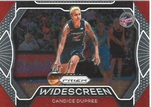 2020 WNBA PANINI PRIZM * CANDICE DUPREE * WIDESCREEN INSERT CARD #5 IND FEVER