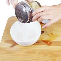 Stainless Steel Food Can Strainer Sieve Tuna Press Lid Oil Drainer Remover. K6Q0