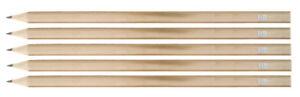 50 Bleistifte aus Naturholz / Härtegrad: HB