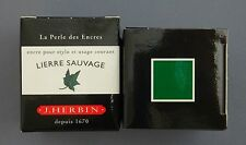 ENCRE J HERBIN COULEUR LIERRE SAUVAGE CALLIGRAPHIE GREEN INK VERDE CALLIGRAPHY