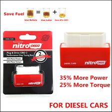 Nitro OBD2 Chip Tuning Box Power Engine ECU Remap Auto Benzine /Petrol Cars Red