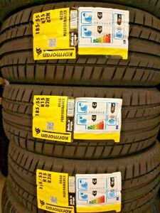 New Car Tyres Kormoran by Michelin UHP 185/55/15 185 55 R15 82H 185 55 15 C+C