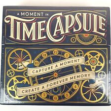 A Moment in Time Capsule Kit Memories Aspirations Future Novelty Keepsake Gift