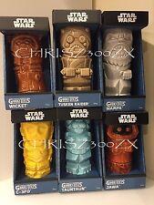 Star Wars Geeki Tiki Mug SET x6 Series 2 C3PO Tusken Jawa TaunTaun Wampa Wicket