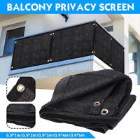 90cm Balcony Privacy Screen Gardening Sunshade Cover Summer Residence Fence SU