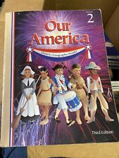 Homeschool Curriculum ABeka Book Our America History Geography Reader 2nd Grade