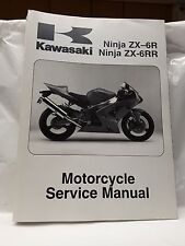 New NOS New Kawasaki Service Shop Manual 2003 2004 ZX600 ZX-6R 99924-1311-03
