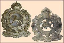 Cos063 - 12th Light Horse Regiment Sand cast Hat Badge