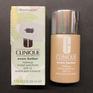 Clinique Even Better Makeup Broad Spectrum SPF 15 - 28 Tawnied Beige (M-G)