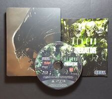 Aliens vs Predator Steelbook Edition (Sony PlayStation 3, 2010) PS3 Game