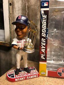 MANNY RAMIREZ Boston Red Sox 2007 World Series EXCLUSIVE Bobblehead NIB!