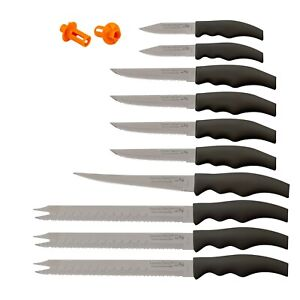Forever Sharp Classic 10 Piece Kitchen Knife Set Factory Seconds