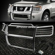 FOR 05-15 TITAN A60/ARMADA WA60 CHROME STAINLESS STEEL FRONT BUMPER GRILL GUARD