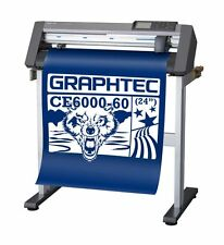 """Graphtec CE6000-60 plus Cutting Plotter 24"""" cutter w/stand,software,warranty NEW"""