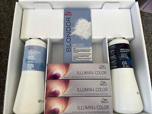 Wella Illuminate Boxed Set With Colour Developer Powder