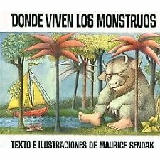 B002A7GDRU Donde Viven Los Monstruos Spanish Softcover Book