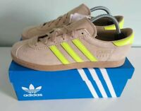 Adidas Stadt Size 9.5 UK - Sand & Yellow Suede - Gum Sole - City Series SPZL