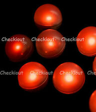 48 LED Red Mini Fairy Lights Waterproof Floating Ball Party Wedding Decorate