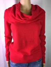 NWT Antonio Melani 100% Cashmere Cowl/Shawl Neck Apple Sweater SZ XS MSRP $129