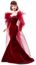 Gone with the Wind Scarlett O'Hara Barbie NRFB red dress 75th anniversary
