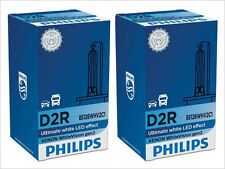 2x NEW PHILIPS WHITE VISION D2R 85126WHVC1 6000K XENON HEADLIGHTS GERMANY