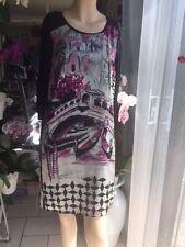 Robe  motif pont des soupirs Venise Jacqueline Riu   Taille 36